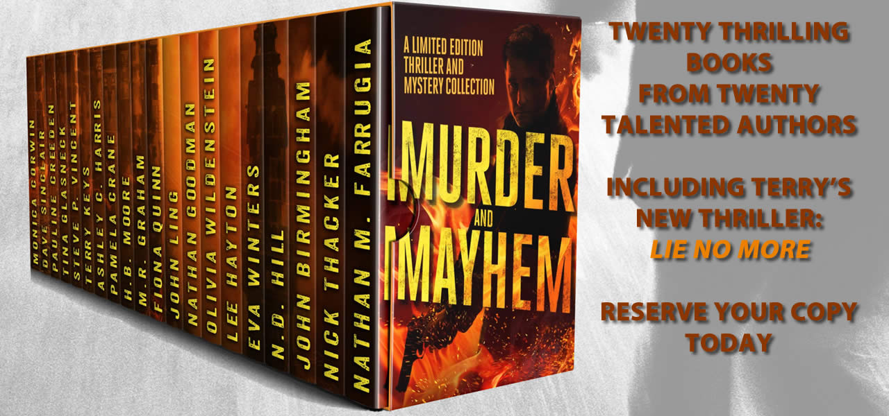 Murder and Mayhem From 20 Different Authors Reserve Your Copy Today